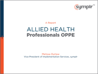 White Paper | OPPE for Allied Health Professionals