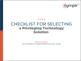 Checklist for Selecting a Privileging Technology Solution