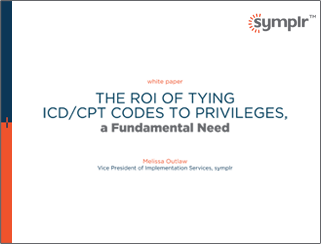 White Paper | The ROI of Mapping ICD/CPT Codes to Privileges