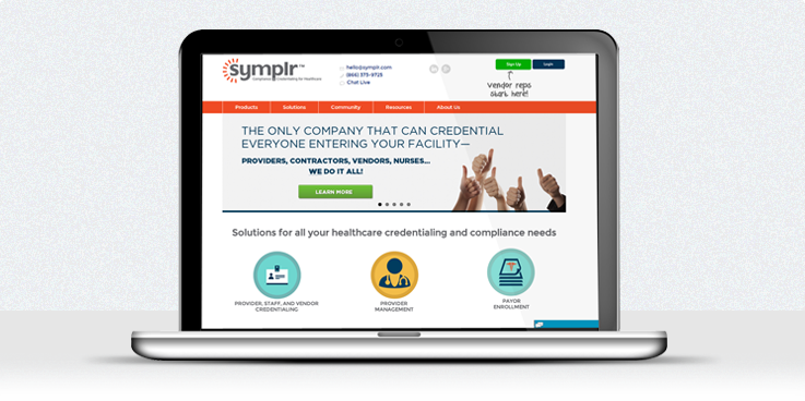 symplr Launches New Healthcare Compliance, Credentialing Website