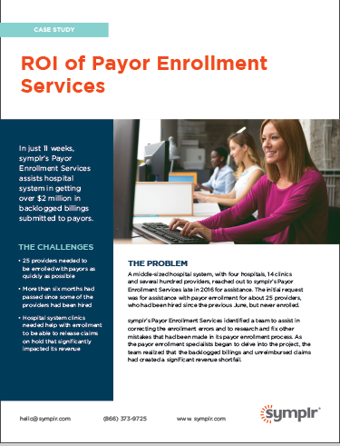 Case Study | ROI of Payor Enrollment Services
