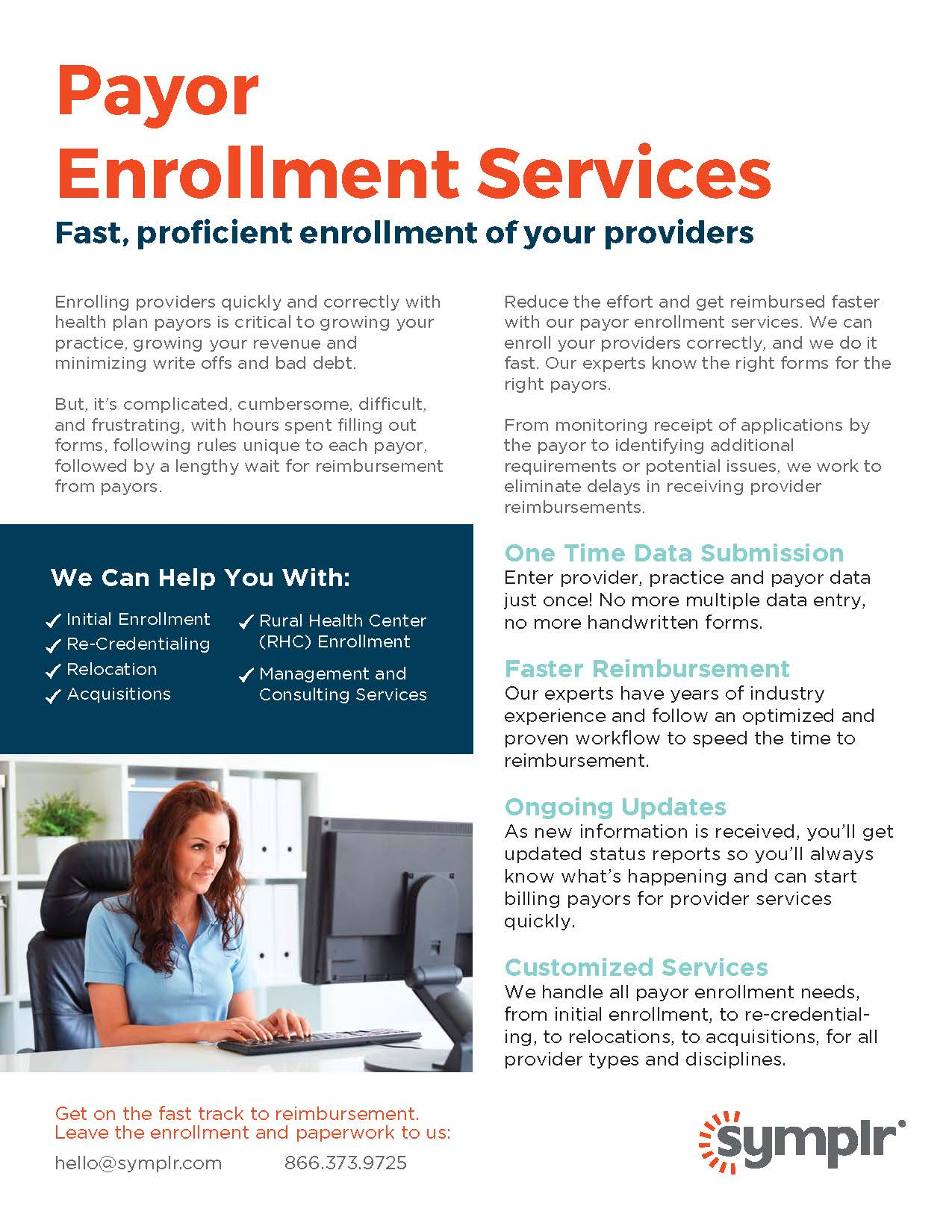 Flyer | Payor Enrollment Services