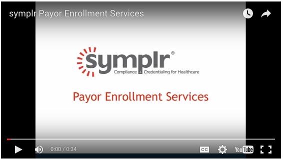 Payor Enrollment Software | symplr