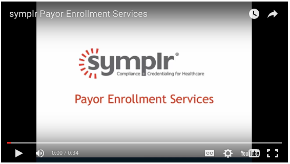 Video | Payor Enrollment Software from symplr
