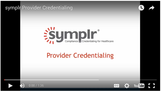 Provider Credentialing | symplr