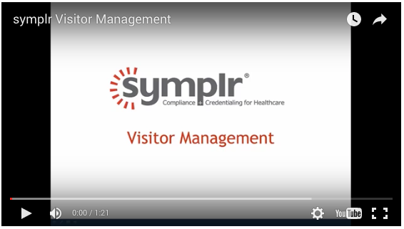 Video | Visitor Management from symplr