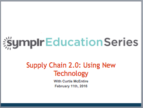 Webinar Recording | Supply Chain 2.0: Using New Technology