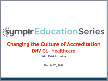 Time for Change: the New Culture of Accreditation | symplr Webcasts