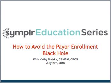 Payor Enrollment Black Hole
