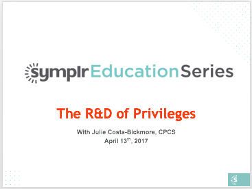 Webinar Recording | The Research & Development of Privileges