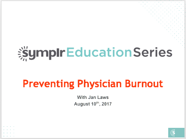 Webinar Recording | Preventing Physician Burnout