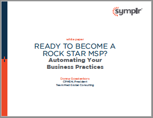 Ready to Become A Rock Star MSP | symplr White Papers