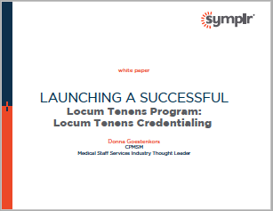 White Paper | Launching a Successful Locum Tenens Program