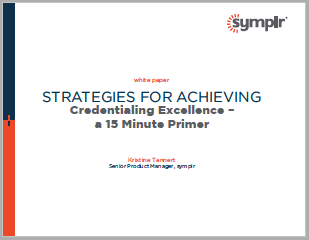 Strategies for Achieving Credentialing Excellence| symplr White Papers