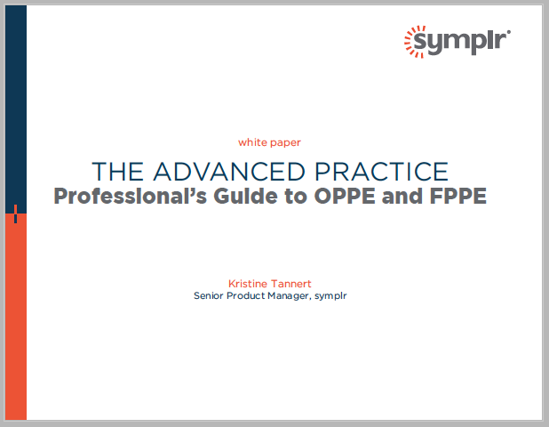 Adv Pros Guide to OPPE and FPPE| symplr White Papers