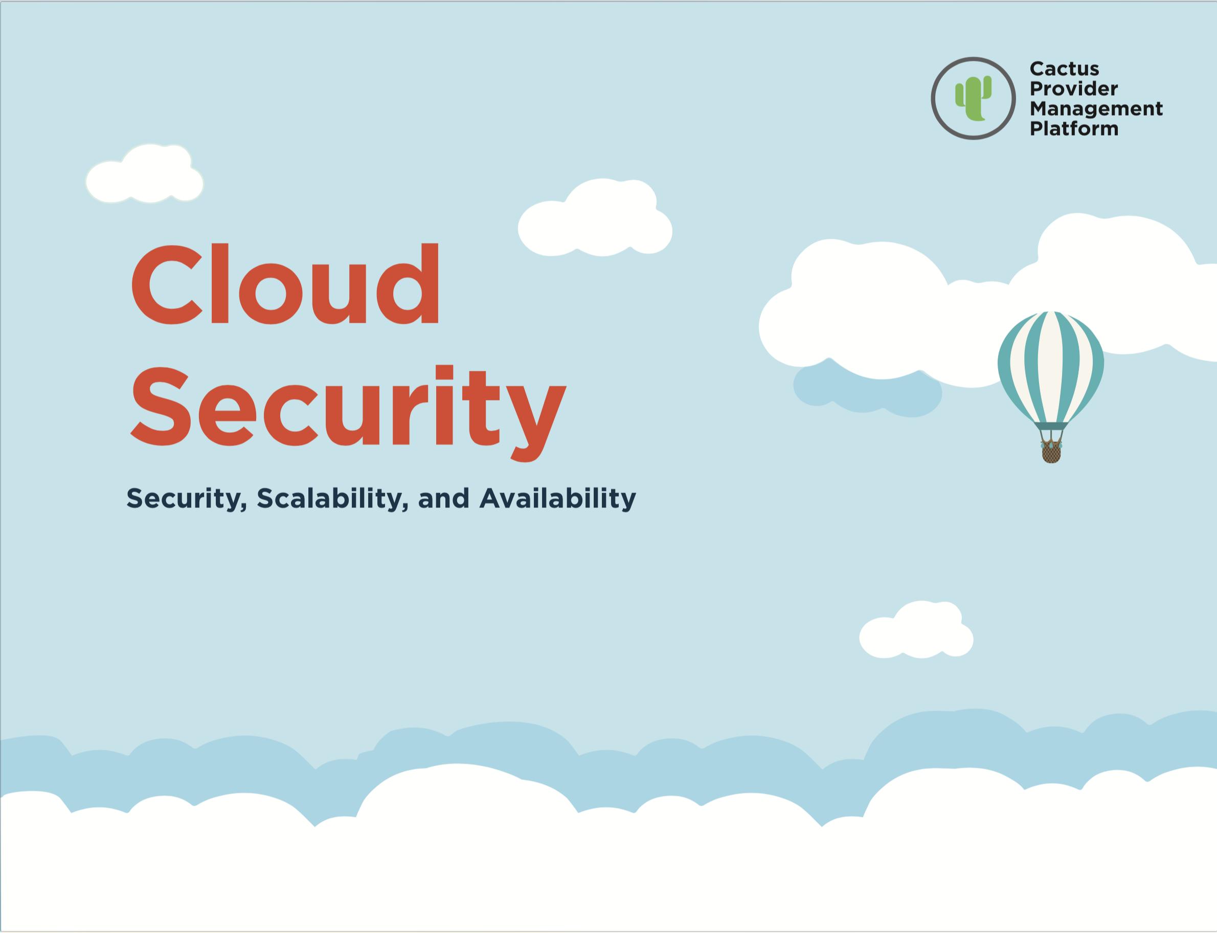eBook | Cloud Security, Scalability and Availability