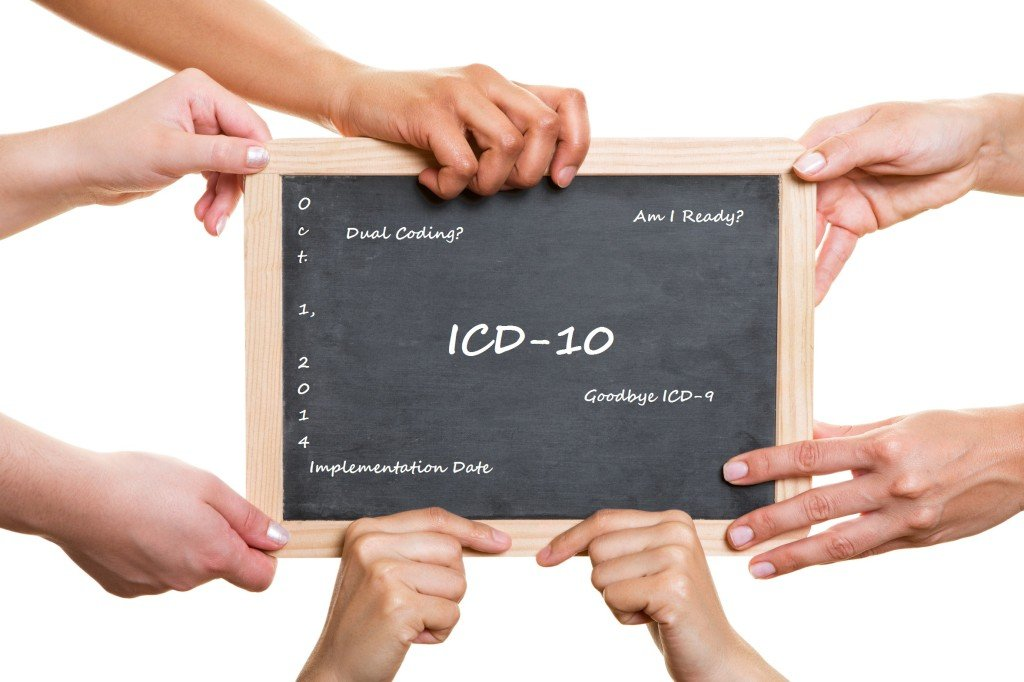 ICD 10s are actually here!